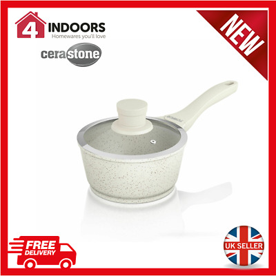 Brand New Tower T90904 24cm Grill Pan Easy Clean Non Stick Die Cast in Almond