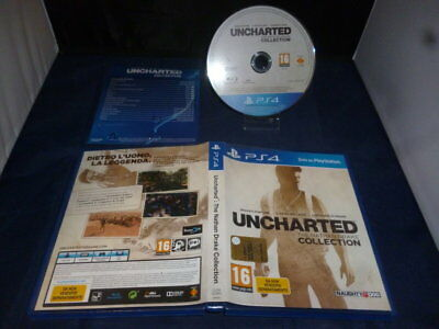 PS4 Uncharted The Nathan Drake Collection _ per Console Sony PS4 _ PAL ITA