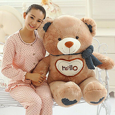 90CM Big Plush Cute Teddy Bear Giant Large Stuffed Soft Plush Toys Doll gift