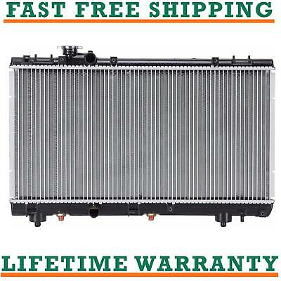 Radiator With Cap For Toyota Fits Tercel Paseo 1.5 L4 4Cyl 1750WC