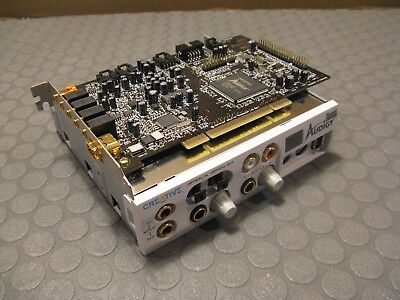 Creative Labs Audigy Sound Card and Front Panel 8B0010 And Sound Board SB 1394
