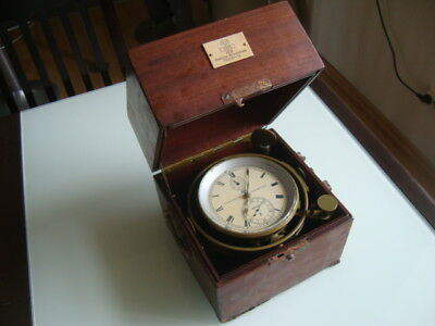 GLASHUTTE Sa GUB Germany marine chronometer in box