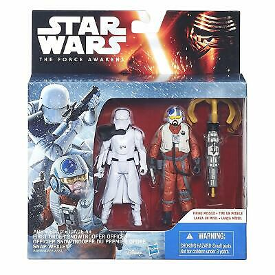 Star Wars Figure Twin Pack Snap Wexley & First Order Snowtrooper Officer