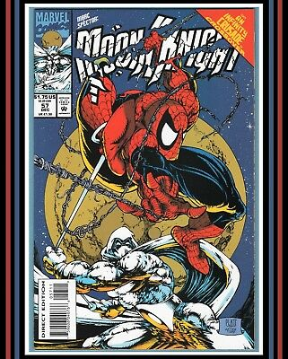 Marc Spector Moon Knight #57 *HIGH GRADE* Amazing 300 Swipe 1993 Marvel (NM/NM+)
