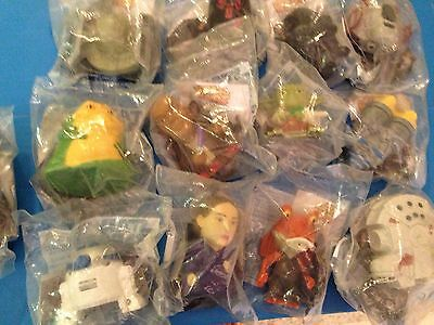 Burger King (13) Star Wars Episode 3...toys...sealed In Bags