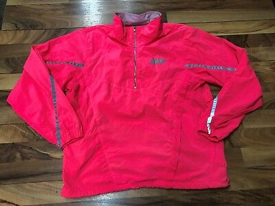 a09d76631c Vintage Nike Windbreaker Womens Hot Pink Jogging Pullover Large Reflective  Neon