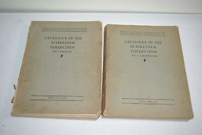 1931 Catalog of the Schreiber Collection Vol I II Victoria & Albert Museum
