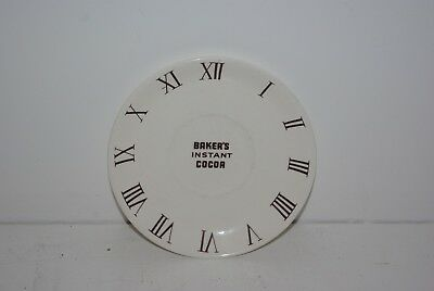 Vintage Walter Baker Co Bakers Chocolate Dorchester MA Instant Cocoa Saucer