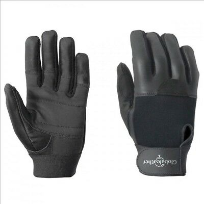 Global Leather Supergrip Wheelchair Gloves - Full Finger - XL