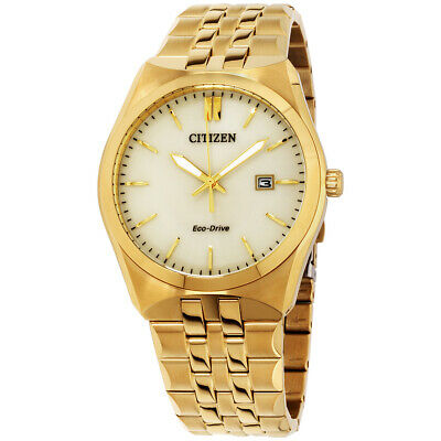 Citizen Corso Champagne Dial Stainless Steel Men's Watch BM7332-53P