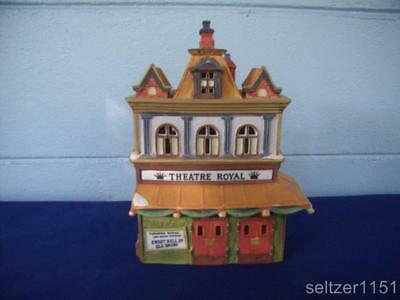 Dept 56 ~ Dickens Village ~ Theater Royal ~ #55840 ~ in EUC