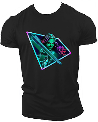 Gamora Avengers Guardians Of The Galaxy T shirt For Kids Adults Unisex Neon30