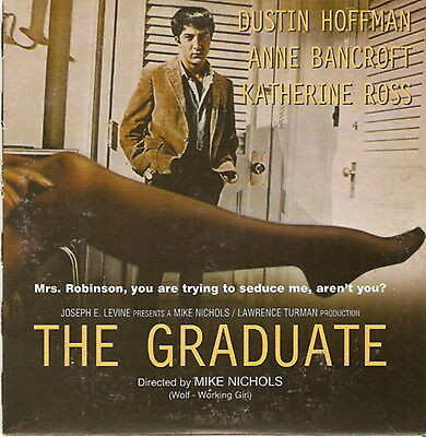 THE GRADUATE Dustin Hoffman Anne Bancroft Katharine Ross R2 DVD