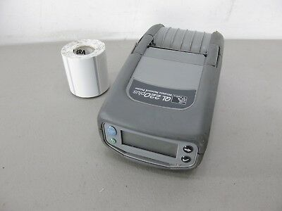 Zebra QL220 Plus Mobile WiFi Bluetooth USB Portable Label / Barcode Printer