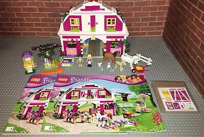 Lego 41039 Friends Sunshine Ranch Complete Set With Minifigures