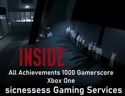 """Inside Xbox One """"ACHIEVEMENTS ONLY"""" 1000 Gamerscore"""