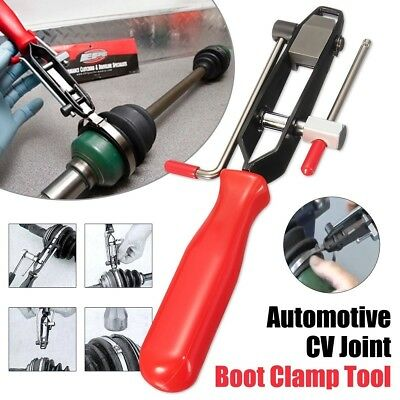 Automotive CV Joint Boot Banding Clamp Tool with Cutter