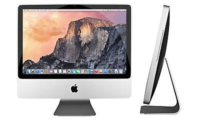 "Apple iMac A1224 20"" Desktop ALL IN ONE - MA876LL/A  MacOs-2015 installed 320GB!"