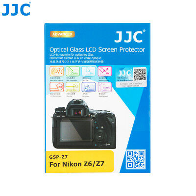 JJC 0.3mm 9H HD Optical Tempered Glass Screen Protector for Nikon Z6 Z7 Camera
