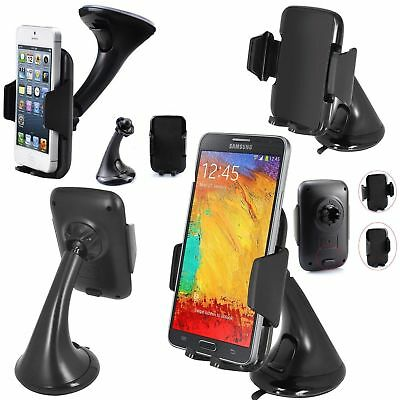 50x Universal Rotating In Car Cell Mobile Phone GPS Holder Mount Stand 3.99 Each