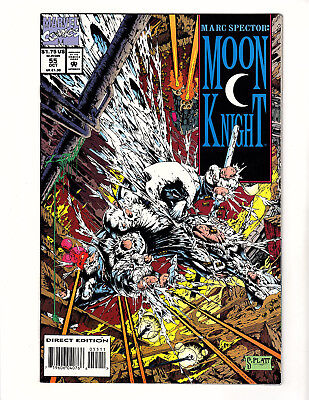 Marc Spector: Moon Knight #55 (1993, Marvel) NM 1st Stephen Platt Art