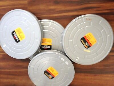 "15"" VtG 35mm Collectible Metal Film Movie Sound Canister Can Case Kodak"