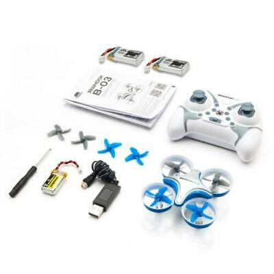 BoldClash BWHOOP B03 Altitude Hold 716 53500rpm Motor EDF RC Quadcopter Blue