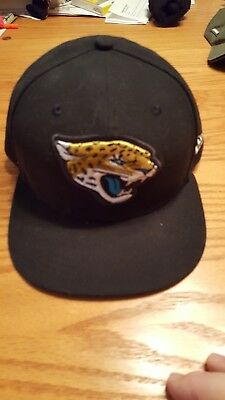 ccc622fe JACKSONVILLE JAGUARS NEW Era Youth Sun Fishing Bucket Hat Black 4-7 ...