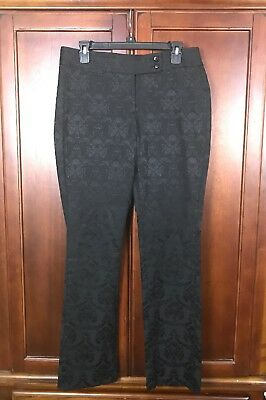 white house black market Women Black Pants Size 8R