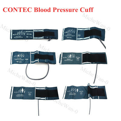 CONTEC 6 Sizes Blood Pressure Cuff for Patient Monitor blood Pressure Monitors
