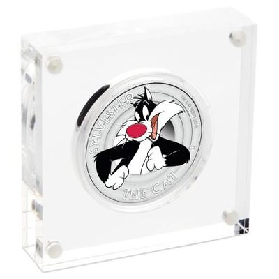 LOONEY TUNES - SYLVESTER 2018 1/2oz Silver Proof Coin
