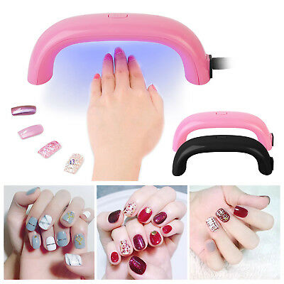 PROFESSIONAL UV LED Nail Polish Dryer Light Gel Drying Curing ...