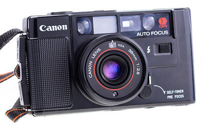 Canon AF35M mit Objektiv 38mm f 2,8 Point and Shot Camera  Tested and Working