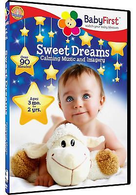 BabyFirst: Sweet Dreams - Calming Music and Imagery (DVD, 2013) *FREE Shipping*