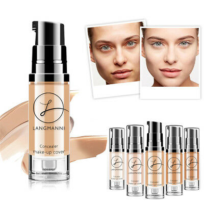 Women Matte Oil Control Concealer Liquid Foundation Face Concealer BB Cream