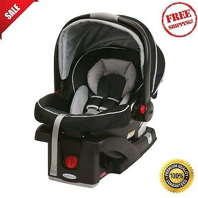 Infant Car Seat Baby Graco SnugRide Click Connect 35 Gotham Lightweight Safe