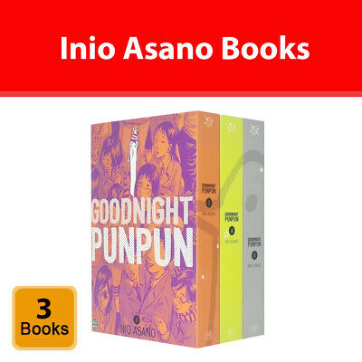 Goodnight Punpun Series 1 Volume 1-5 Collection 5 Books Set by Inio Asano NEW PB