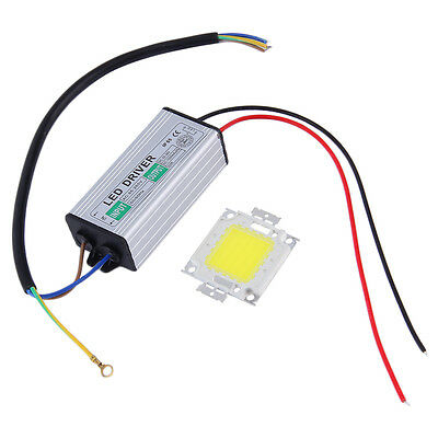 20/30/50W LED SMD Chip Bulbs High Power With Waterproof LED Driver Supply PA