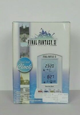 New Final Fantasy XI Vana'deil Clock Timer RARE Collectible Tested And Working