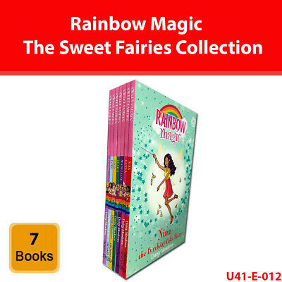 Rainbow Magic The Sweet Fairies Collection Daisy Meadows 7 Books Set Series 19