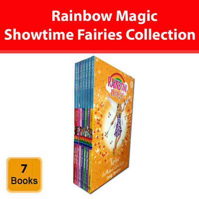 Rainbow Magic Showtime Fairies Collection Daisy Meadows 7 Books Set series pack