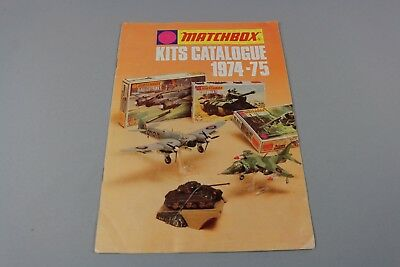 ZF1501 Matchbox 1/72 1/76 Kits catalogue maquette tank avion militaire 1974 1975