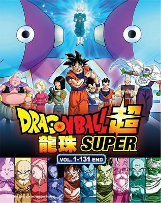 Dragon Ball Super 超 Complete Series (1-131 End) DVD with English Dubbed