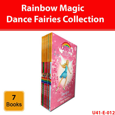 Rainbow Magic Dance Fairies Collection Daisy Meadows 7 Books Set series pack NEW
