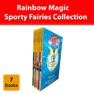 Rainbow Magic Sporty Fairies Collection Daisy Meadows 7 Books Set series pack