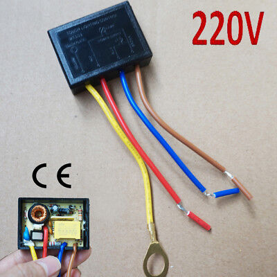 220V Touch Light Lamp Dimmer Switch Control Module Sensor Halogen Tungsten LED