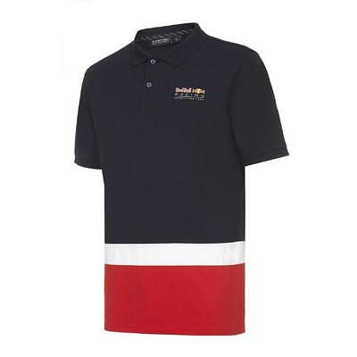 Red Bull F1 Men's Seasonal Polo Shirt Official Formula One Racing Team RRP £75