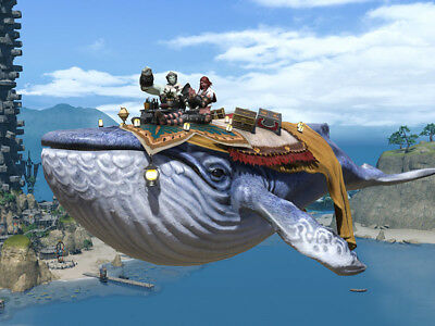FINAL FANTASY XIV FFXIV FF14 item Mount Indigo Whale (Account-wide) Gift Code