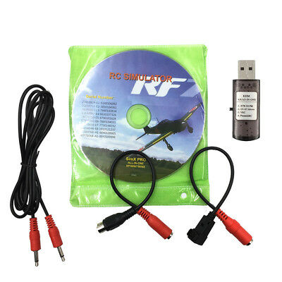 RC Flight Simulator 22in1 USB Cable for Realflight G7 Phoenix5.0 XTR Helicopter