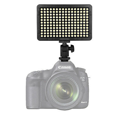 EACHSHOT 176 LED Ultra Bright 5500K Dimmable On Camera Video Light